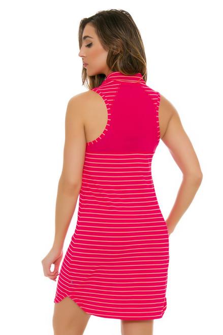 Lole Women's Spring Adisa Tropical Rose Stripe Golf Dress LO-LSW2184-K440 Image 4
