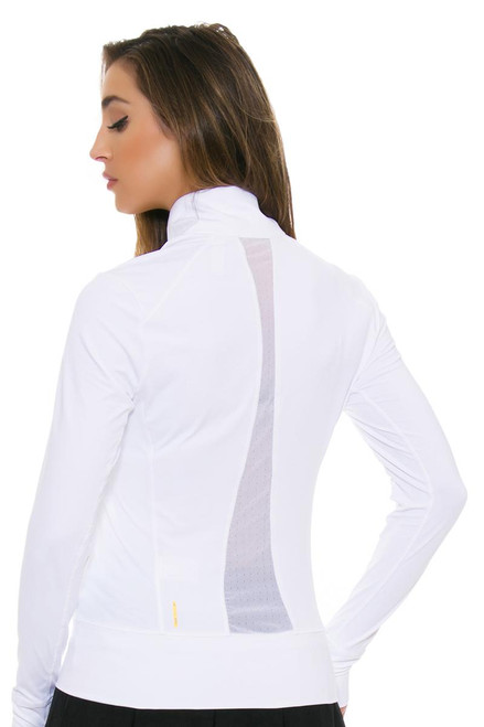 Lole Women's Spring Essential Up White Jacket LO-LSW2138-W101 Image 4