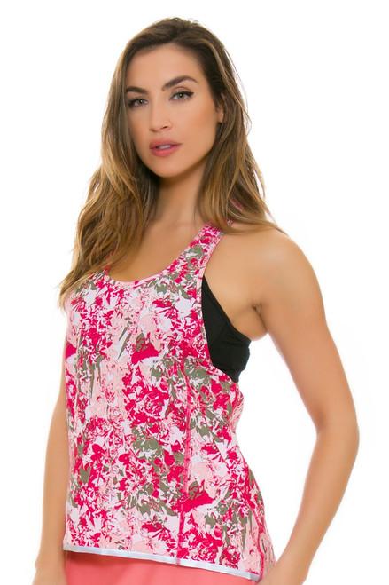 Lole Women's Spring Jazna Rose Fleurs Workout Tank LO-LSW2197-K450 Image 4