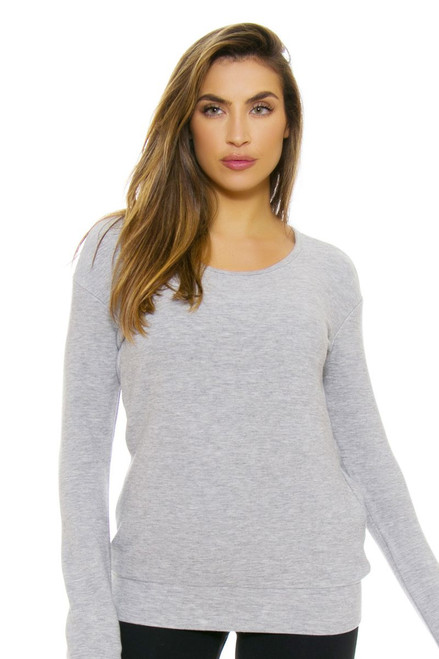Tonic Active Women's Castle Rock Jazmine Long Sleeve Top TA-FT3146-Castle Rock Image 4