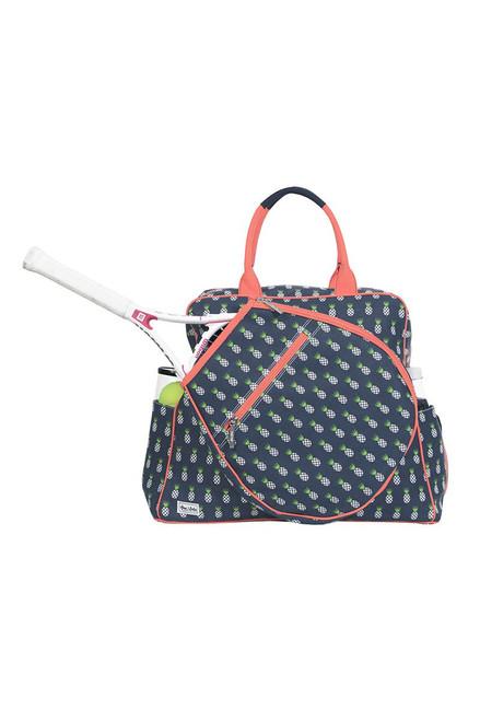Ame & Lulu Women's Harper Tennis Tour Bag AL-Harper Tennis Tour Bag Pineapple
