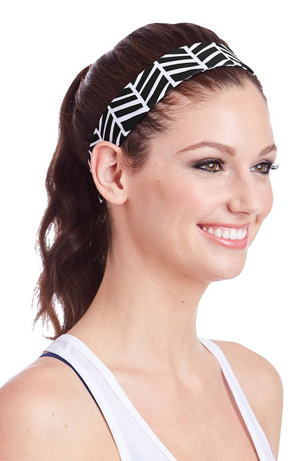 Ame & Lulu Women's Homestretch Headband AL-Homestretch Headband Black Shutters