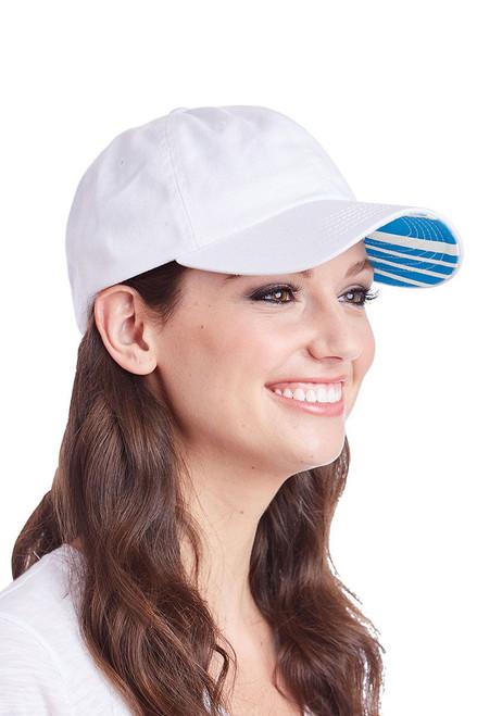 Ame & Lulu Women's Heads Up Hat AL-Heads Up Ticking Stripe