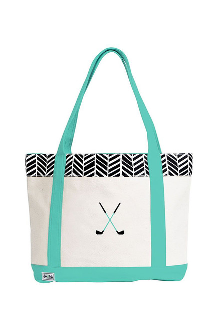 Ame & Lulu Women's Golf Lovers Tote AL-Golf Lovers Tote