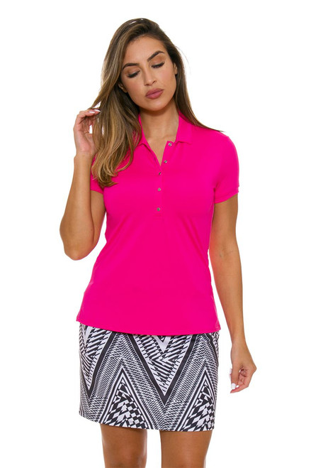 Abstract Houndstooth Pull On Golf Skort