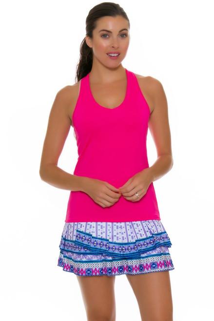 Lucky In Love Women's Divine Print Pleat Tier Tennis Skirt LIL-CB179-287955 Image 4
