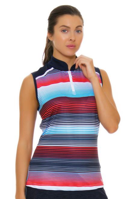 GGBlue Women's Olympic Era Serena Anthem Golf Sleeveless GG-E1021-1806 Image 4