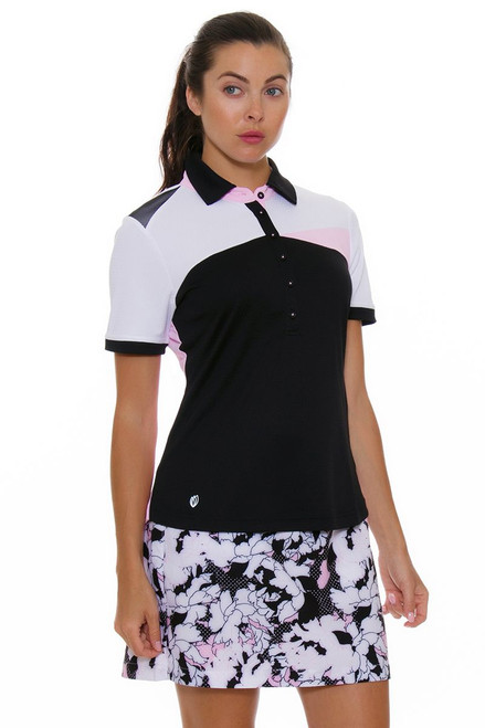 GGBlue Women's Black Dahlia Fore Hollywood Golf Skort