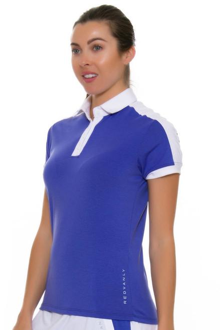 Redvanly Women's Scholes Periwinkle Short Sleeve RV-5144 Image 4