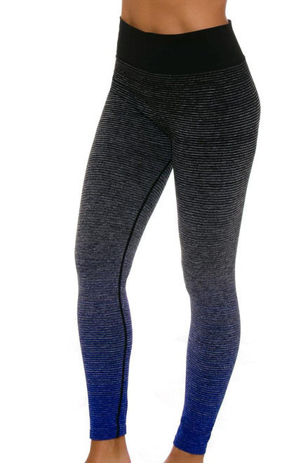 Electric Yoga Women's Faded Ombre Workout Legging EY-501529 Image 4