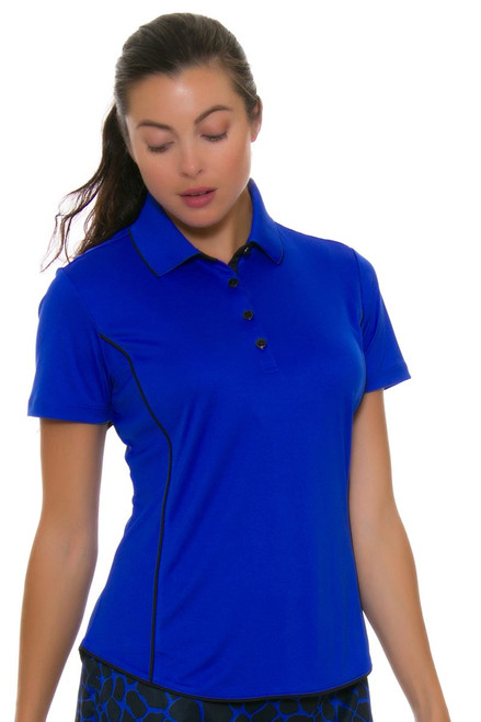 Greg Norman Women's Animal Instincts ML75 Piped Golf Polo GN-G2F7K709 Image 4