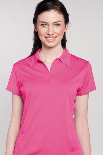 Aerocool® Short Sleeve Polo - 16 Colors SH-WF07002-pink Image 1
