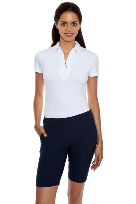 Greg Norman Women's Perfect Fit Slimming Golf Short