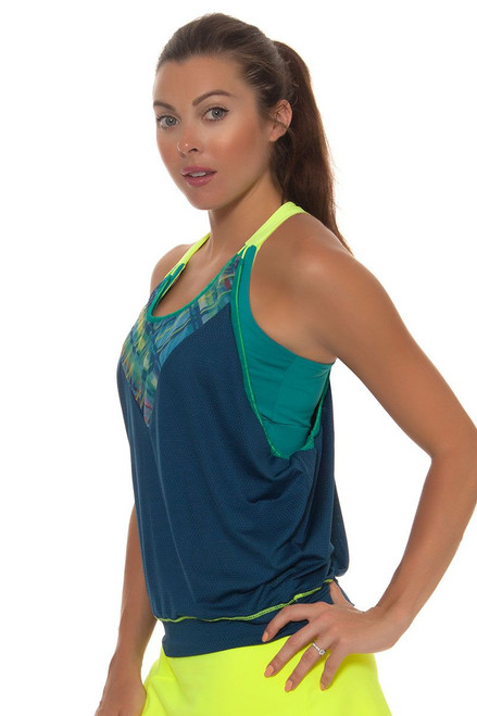 Checked Out Bralet Tennis Tank LIL-CT207-933 Image 6
