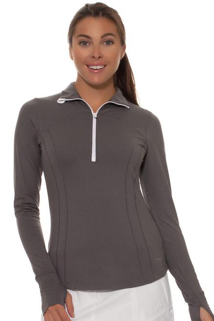 Annika Women's Sky Above Shona Half Zip Long Sleeve Golf Top