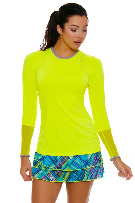 Plaid Pleated Tier Tennis Skirt