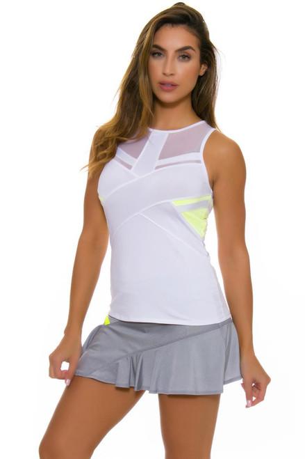 Lucky In Love Women's Love Not War Ace Symmetrical Tennis Skirt LIL-CB221-049 Image 2