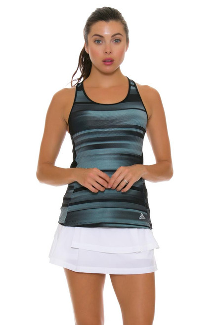 Adidas Women's Advantage Pleat Layered Tennis Skirt A-BR6839 Image 2