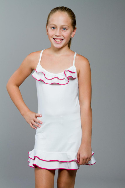 Mia Girls Cross Strap Tennis Dress TLT-KC0807-0012 Image 4