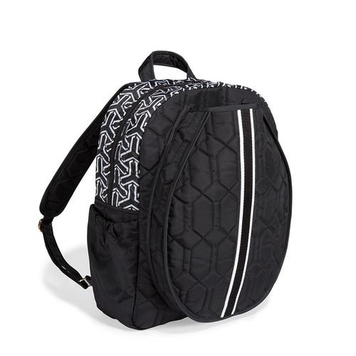Jet Set Black Tennis Backpack