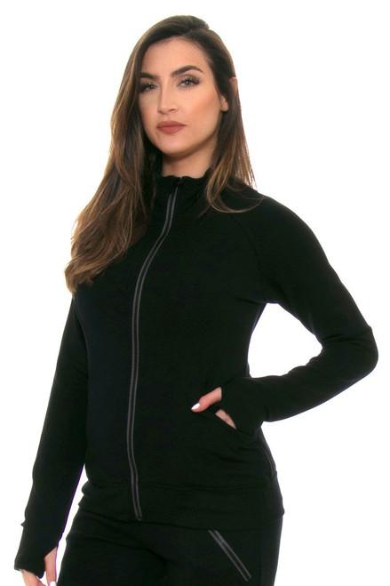 Black Escentia Jacket TA-SB4058-Tennis Blk Image 2