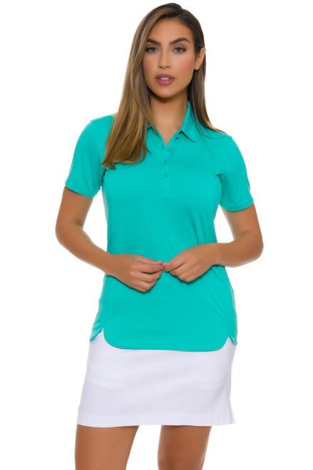 EP Pro NY Women's Basics White Bi-Stretch Pull On Golf Skort EPNY-NS1133-White Image 2