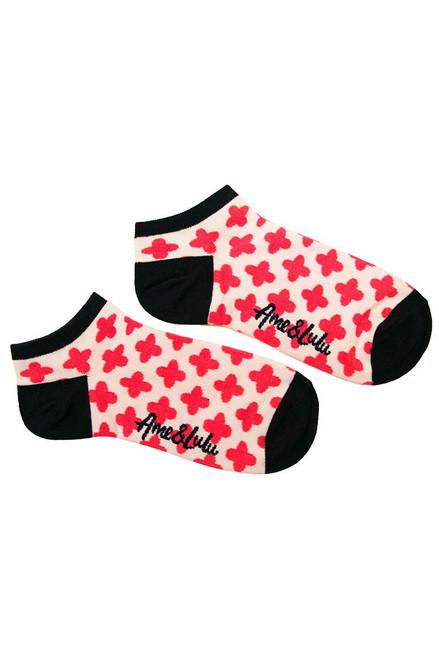 Ame & Lulu Women's Meet Your Match Clover Socks AL-Meet Your Match Socks-Clover Image 2