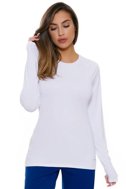 Annika Women's Warrior Solar Guard Golf Long Sleeve Shirt AK-LAK06399-Warrior