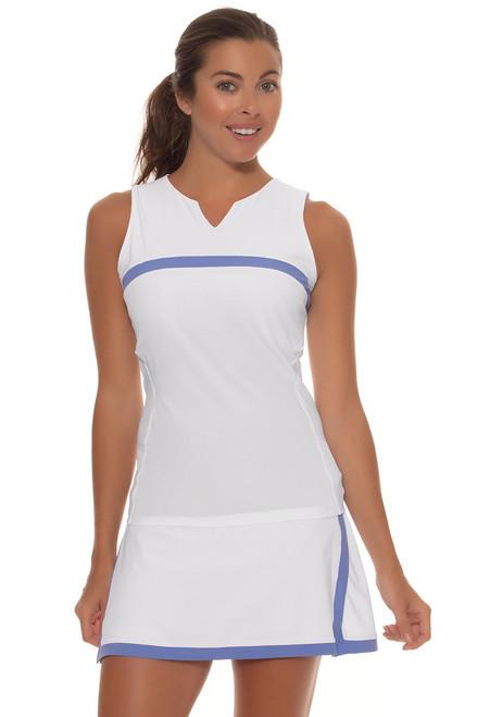 Fila Women's Persian Jewel White Tennis Skirt FT-TW163QX7-100-White Image 1
