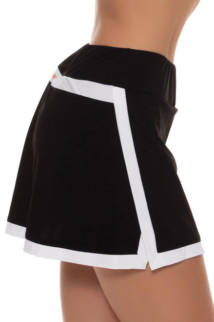 fila tennis skirt. fila women\u0027s black tennis skirt - image fila