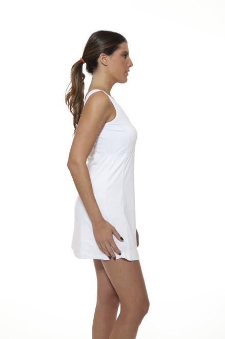 Tennis white dress