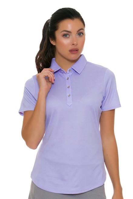 Cutter & Buck Women's Pearl Iris Fiona Golf Short Sleeve Polo