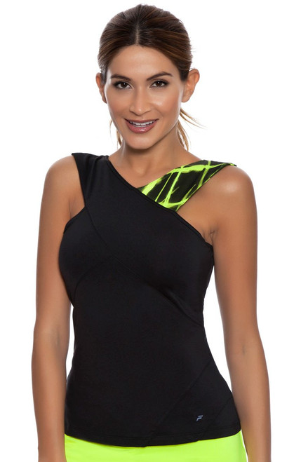 Criss Cross Tennis Tank FT-TW161PB5-735 Image 4