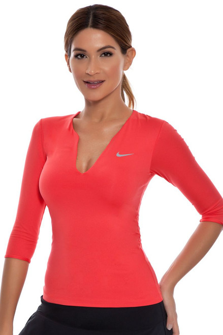 Nike Women's Pure 3/4 Sleeve Top