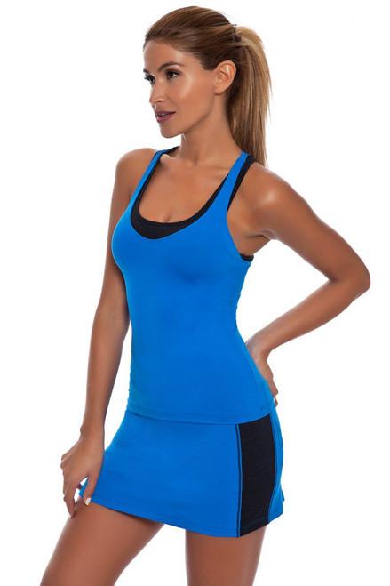 GiGi Active Cirre V Waist Tennis Skirt