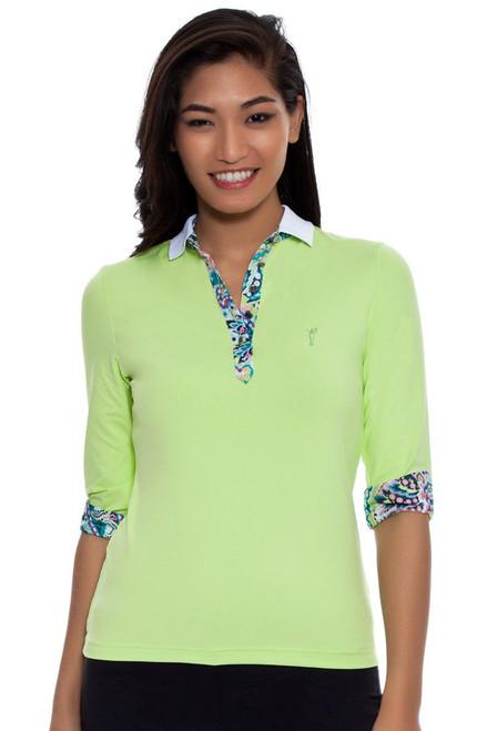 Golfino Women's Dry Comfort Golf Polo Shirt