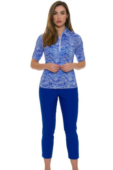 Swing Control Women's Snap Master Golf Crop Pants