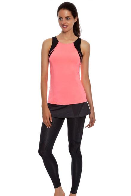 Grid Tennis Skirt Legging LIL-CB127-057110 Image 1