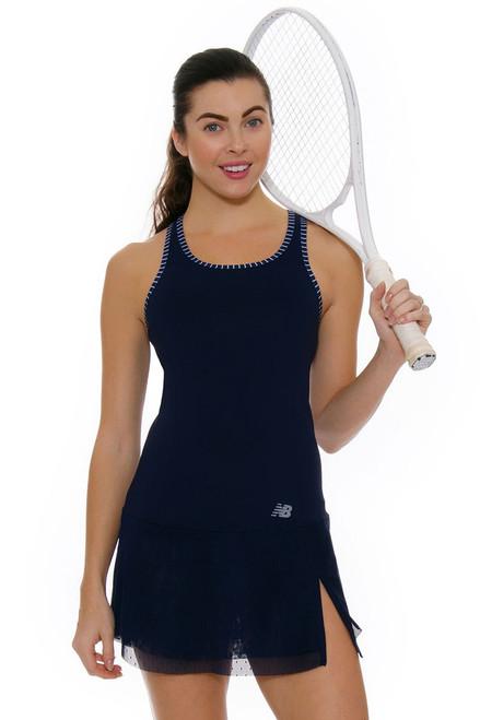 New Balance Women's Oz Open Tournament Tennis Dress NB-WD73407-PIW Image 1
