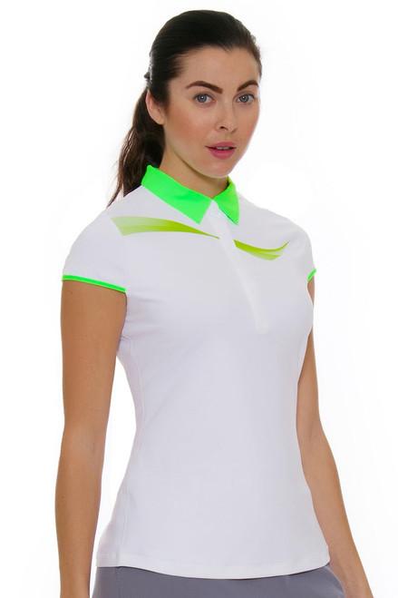 Annika Women's Eclipse Draft Golf Cap Sleeve Shirt AK-LAK00011 Image 1