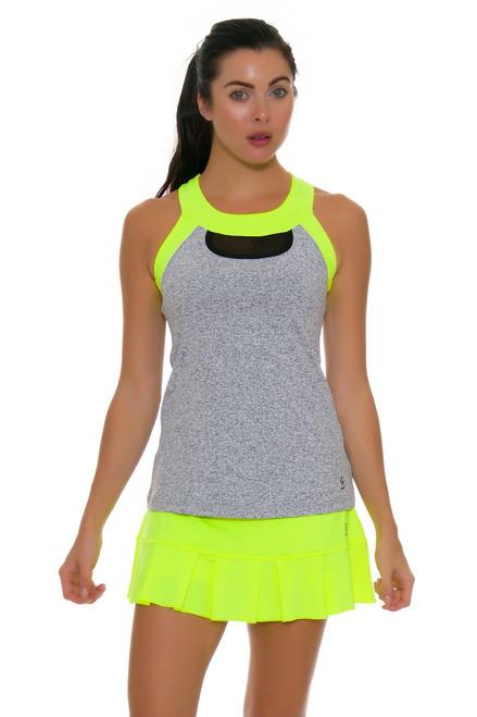 Sofibella Women's Paris Matchpoint 13 Yellow Tennis Skirt