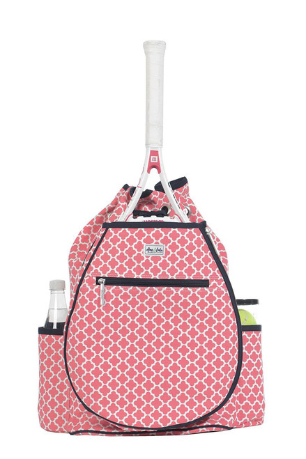 Ame & Lulu Women's Kingsley Tennis Backpack AL-Clover