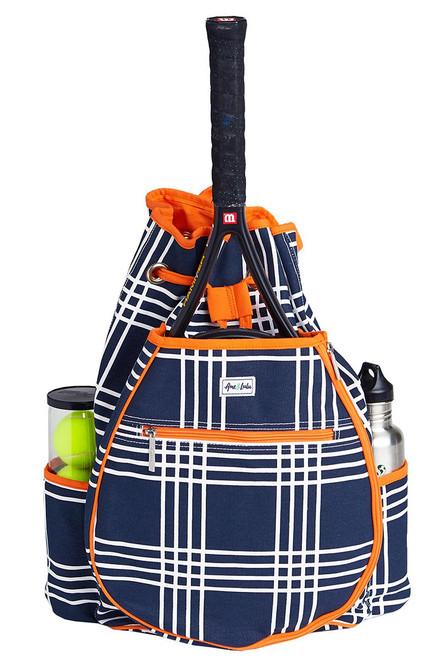 Ame & Lulu Women's Kingsley Abbey Plaid Tennis Backpack