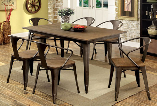 Why Buy Beautiful Urban Industrial Style Furniture Www - Industrial dining room chairs