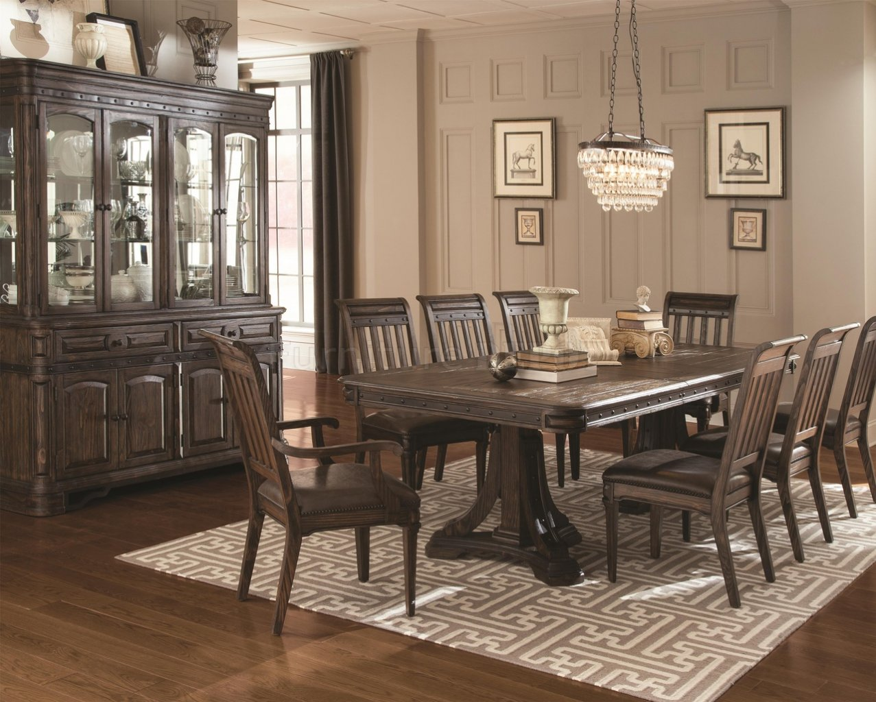 Fall Trend: Rustic Dining Table and Chair Sets - www.eFurnitureHouse.com
