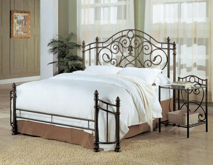 How to Choose the Perfect Metal Bed Frame - www.eFurnitureHouse.com