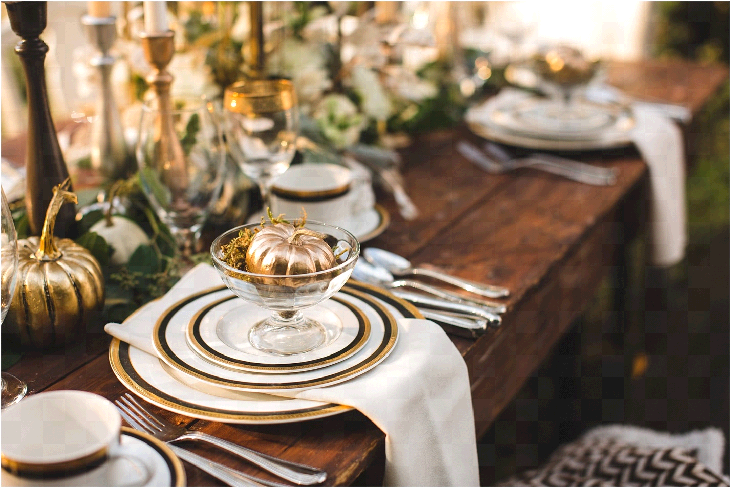 Amazing Thanksgiving Dining Table Settings You Ll Love
