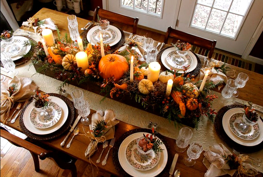 Beau Let The Bright Colors Of Fall Serve As Inspiration For Your Classic  Traditional Dining Table By Letting Each Item Of The Table Scape Shine  Without ...