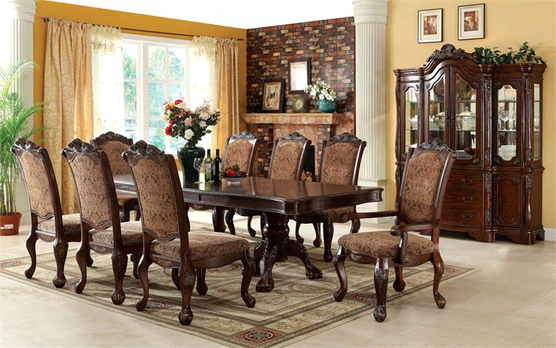 Setting the Dining Table for Thanksgiving - www.eFurnitureHouse.com