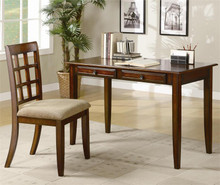 Rustic Wood Writing Desk w/ Chair